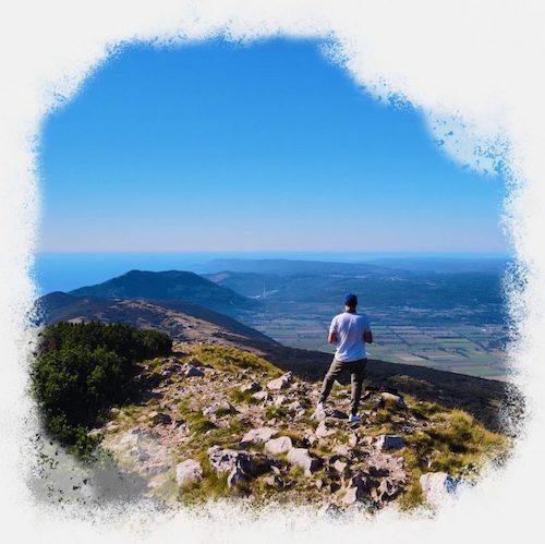 Panorama-berge-istrien